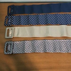 Bundle of 4 belts